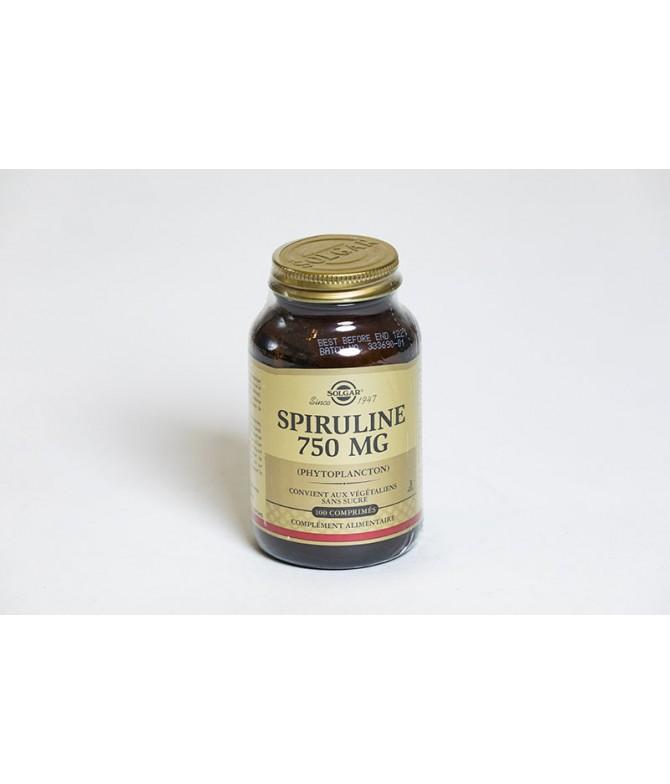 SOLGAR Spiruline 750 mg