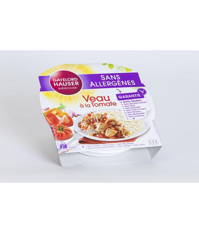VEAU À LA TOMATE SANS ALLERGÈNES GAYERLORD