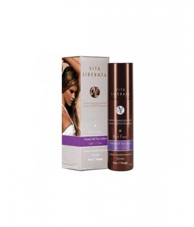 Luxury Tan Face lotion Light