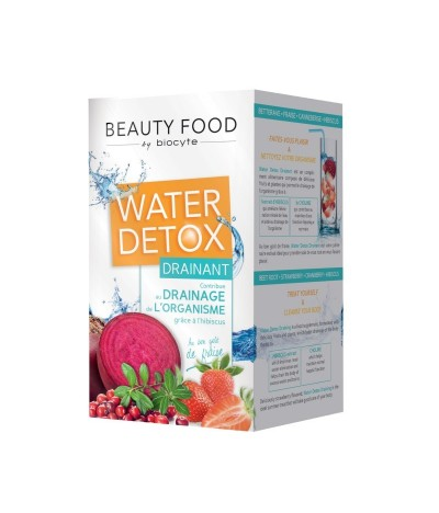 Beauty Food Water detox drainant