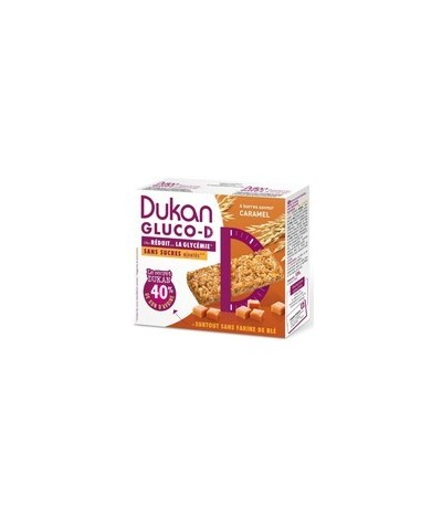 Barres caramel Gluco-D