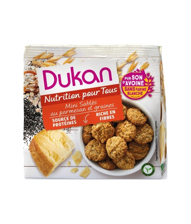 Mini sablés au parmesan Dukan