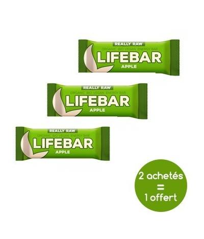Promotion Lifebar vegan pomme
