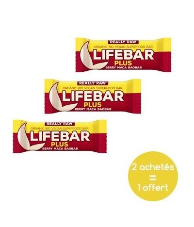 Promotion Lifebar vegan maca