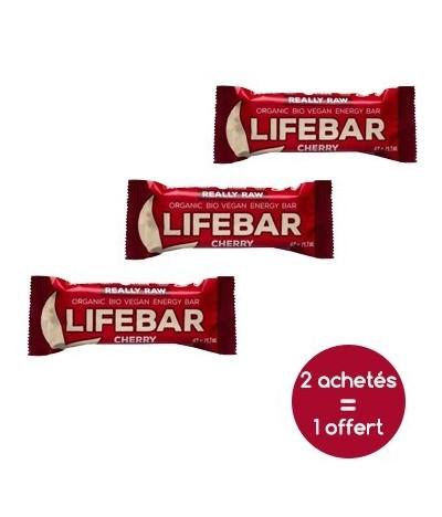 Promotion Lifebar vegan cerise