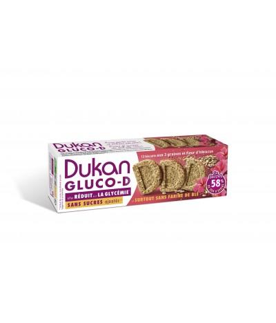 Biscuit Gluco-D 3 Graines et fleur d'hibiscus Dukan