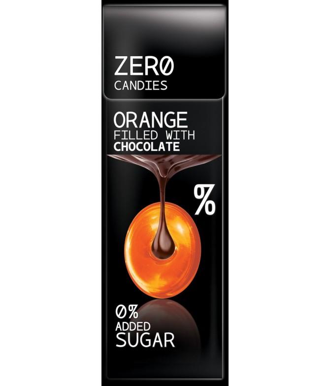 bonbon zero orange chocolat