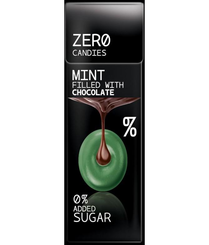 Bonbon zero menthe chocolat