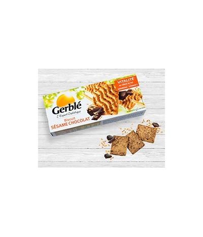 Biscuit chocolat sésame Gerblé
