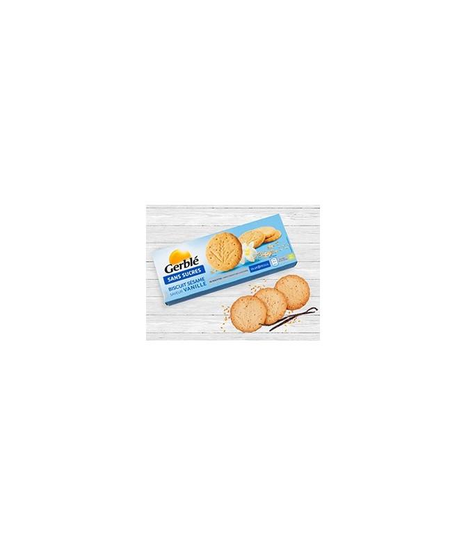 Biscuit sans sucres sésame et vanille Gerblé