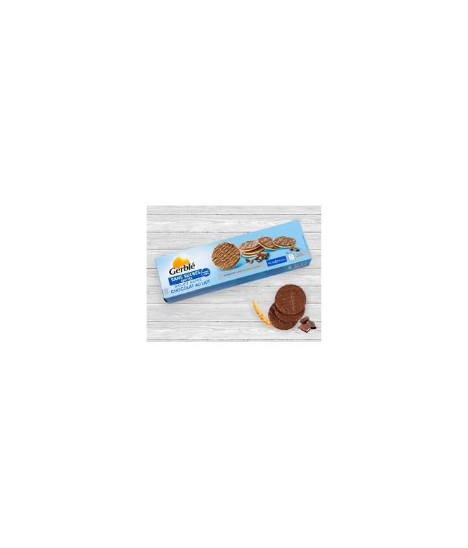 Biscuit sans sucres nappé chocolat au lait Gerblé