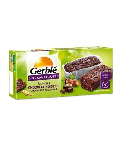 Brownie chocolat noisette Gerblé (sans gluten)