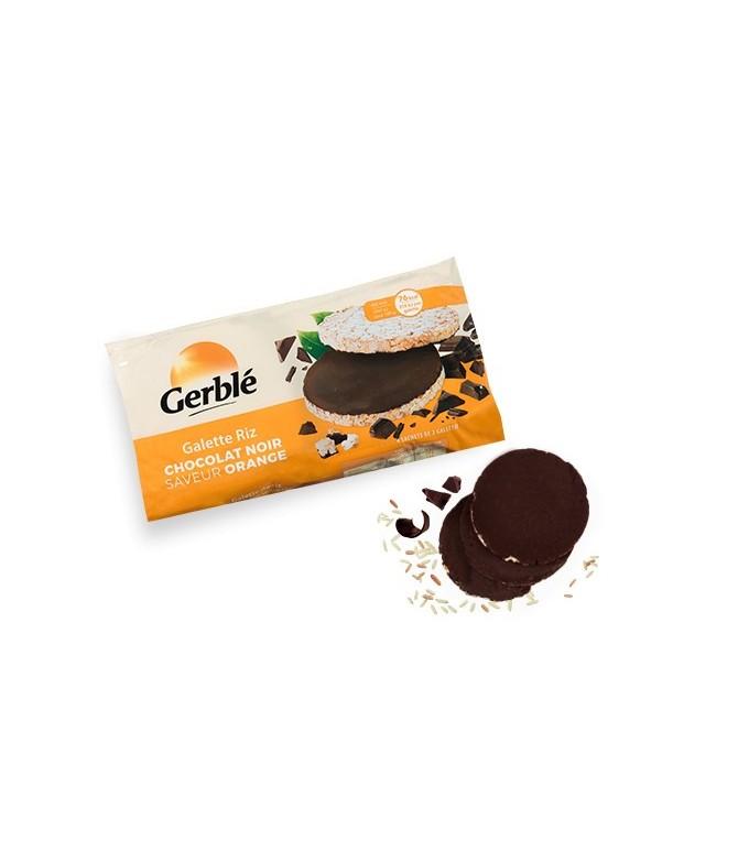 Galette de riz chocolat saveur orange Gerblé