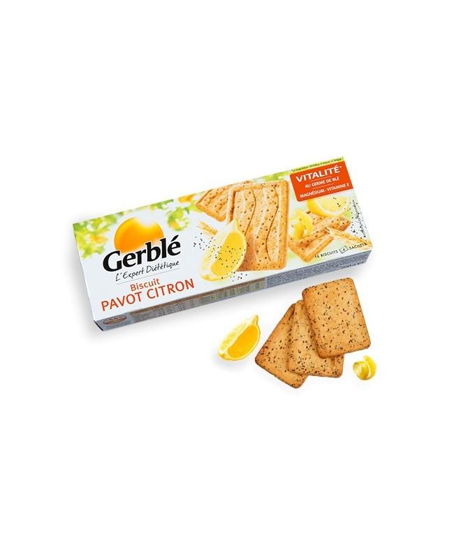 Biscuit Pavot Citron Gerblé