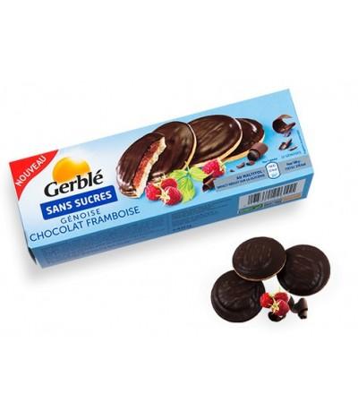 Génoise chocolat framboise Gerblé