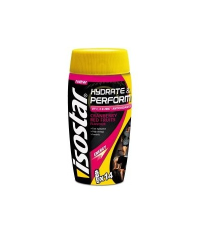 hydrate & perform cranberry Isostar