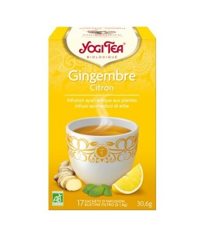 YOGI TEA citron gingembre