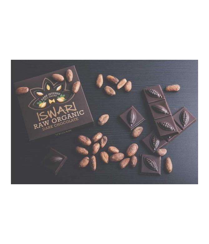 Tablette de chocolat cru – Noir Intense – BIO – 75g