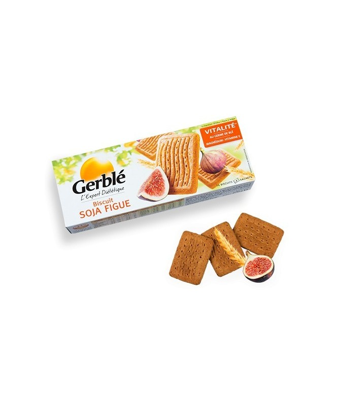 Biscuits soja figue Gerblé