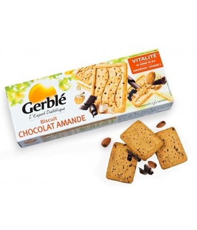 Biscuit chocolat amande
