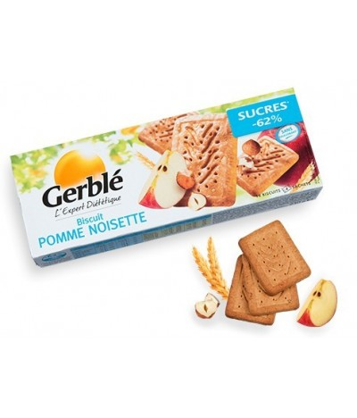 Biscuit pommes noisettes Gerblé