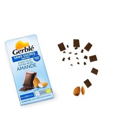 Chocolat noir amande