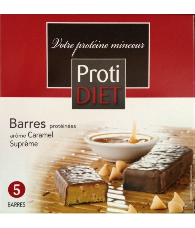 Protidiet Barres Caramel supreme