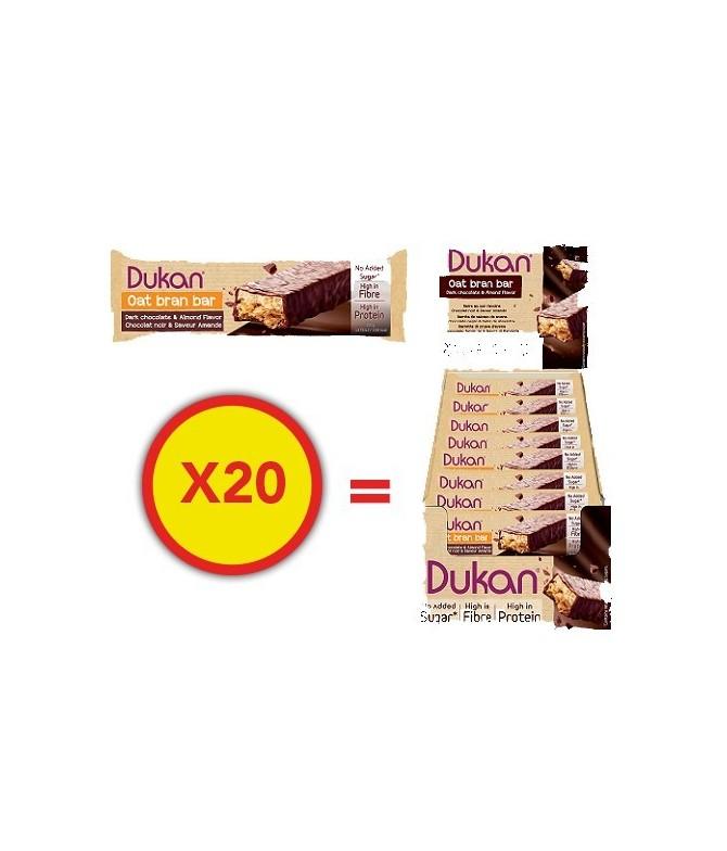 Barre individuelle de son d'avoine extra-gourmand x20 Dukan