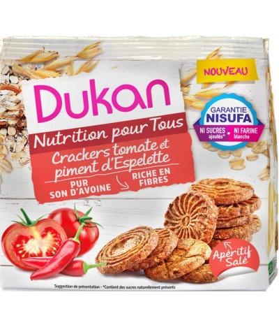 Crackers tomate et piment d'Espelette Dukan