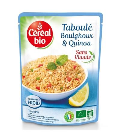 Taboulé boulghour quinoa céréal bio