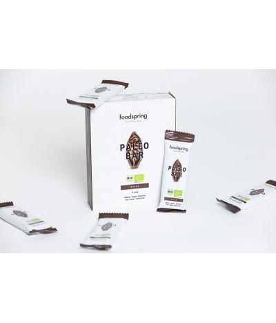 Foodspring barres paleo cacao