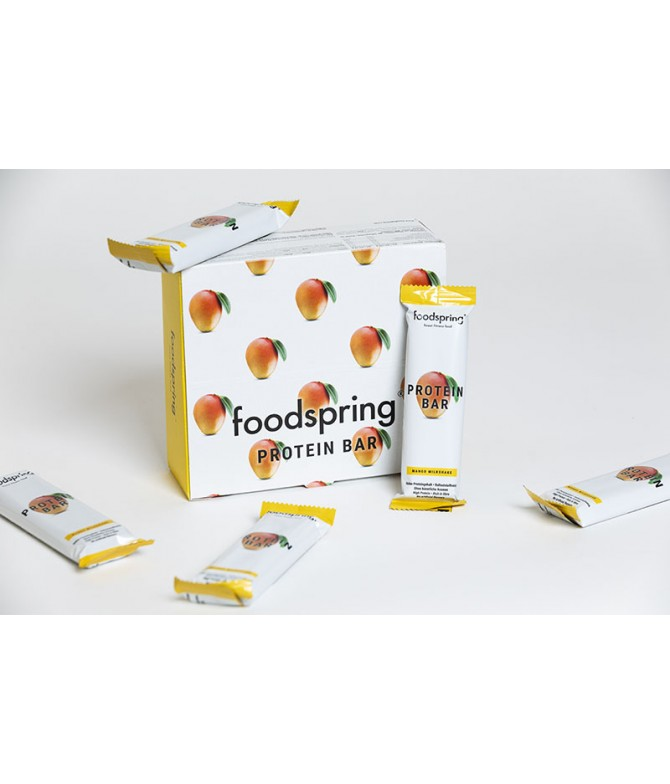 Foodspring barres protéinées mangue