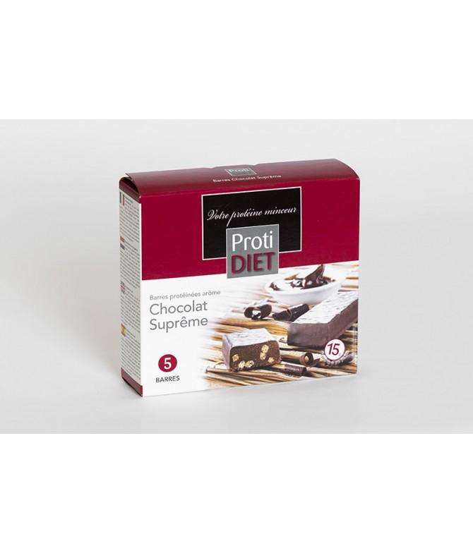 Barres chocolat suprême
