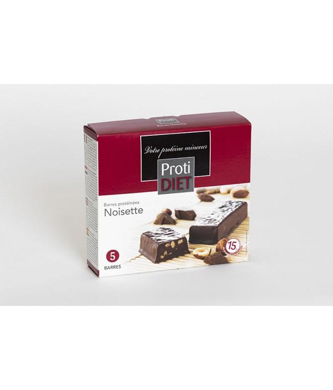 Barre protéinées chocolat noisettes
