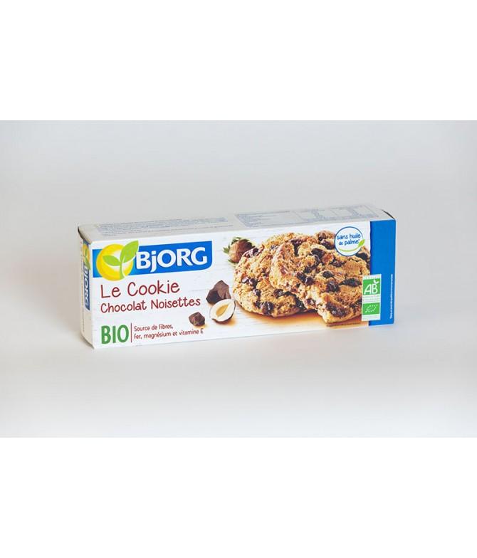 Biscuits bjorg cookies chocolat noisette