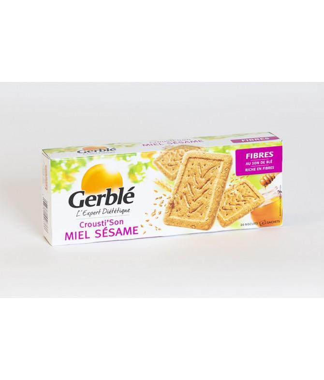 Biscuit miel sésame Gerblé