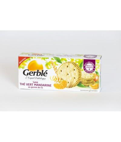 Sablés thé vert mandarine Gerblé