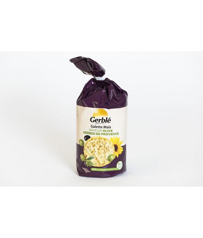 Galette mais huile olive herbe de provence