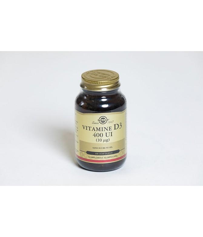 Solgar Vitamine D3 100UI